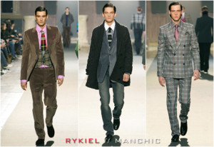 Men in stylish suits